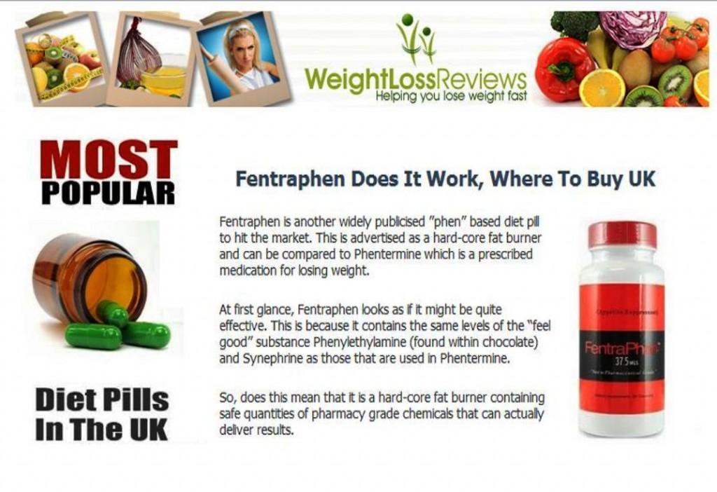 Fentraphen Diet Pill Review