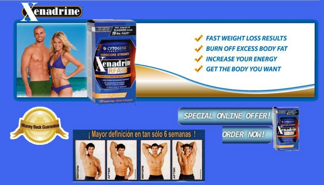 what is xenadrine Xenadrine (xenadrine ultimate) is a weight loss pill that's supposed to help you cut body fat and increase your metabolism it comes in bottles of 120 pills it comes in bottles of 120 pills users are supposed to take 1 capsule two times a day, meaning that with regular use, each bottle should last users for two months.